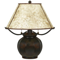 Quoizel MC5207TVA Mica 20 inch 60 watt Valiant Bronze Table Lamp Portable Light