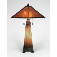 Quoizel Lighting Mica 2 Light Table Lamp in Combo MC6793M photo thumbnail