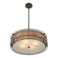 Quoizel Lighting Laguna 4 Light Pendant in Renaissance Copper MC8420CRC alternative photo thumbnail