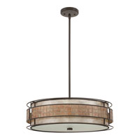Quoizel MC8420CRC Laguna 4 Light 22 inch Renaissance Copper Pendant Ceiling Light alternative photo thumbnail