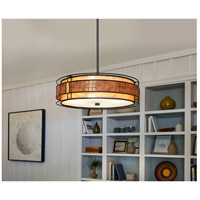 Quoizel MC8420CRC Laguna 4 Light 22 inch Renaissance Copper Pendant Ceiling Light, Naturals alternative photo thumbnail
