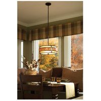 Quoizel MC842CRC Laguna 3 Light 16 inch Renaissance Copper Pendant Ceiling Light alternative photo thumbnail