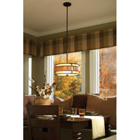Quoizel MC842CRC Laguna 3 Light 16 inch Renaissance Copper Pendant Ceiling Light, Naturals alternative photo thumbnail