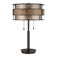 Quoizel Lighting Laguna 2 Light Table Lamp in Renaissance Copper MC842TRC alternative photo thumbnail