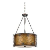 Quoizel Lighting Mica 3 Light Pendant in Renaissance Copper MC844CRC photo thumbnail