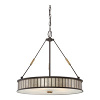 Belfair 5 Light 22 inch Western Bronze Pendant Ceiling Light in A19 Medium Base