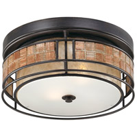 Laguna 2 Light 12 inch Renaissance Copper Outdoor Semi-Flush Mount, Naturals