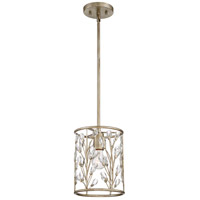 Quoizel MDL1508VG Meadow Lane 1 Light 8 inch Vintage Gold Mini Pendant Ceiling Light