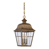 Millhouse 3 Light 10 inch Veneto Hanging Lantern Ceiling Light in B10 Candelabra Base