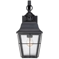 Quoizel MHE8406K Millhouse 1 Light 16 inch Mystic Black Outdoor Wall Lantern alternative photo thumbnail