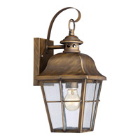 Millhouse 1 Light 7 inch Veneto Wall Lantern Wall Light in Fluorescent