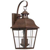 Quoizel MHE8409CU Millhouse 2 Light 19 inch Copper Bronze Outdoor Wall Lantern, Medium