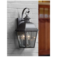 Quoizel MHE8409K Millhouse 2 Light 18 inch Mystic Black Outdoor Wall Lantern  alternative photo thumbnail