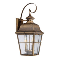 Millhouse 2 Light 8 inch Veneto Wall Lantern Wall Light