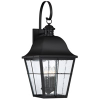 Quoizel MHE8412K Millhouse 4 Light 27 inch Mystic Black Outdoor Wall Lantern