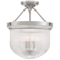 Quoizel MHY1715BN Murphy 3 Light 15 inch Brushed Nickel Semi-Flush Mount Ceiling Light