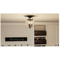 Quoizel MID1712WT Middleton 3 Light 12 inch Western Bronze Semi-Flush Mount Ceiling Light alternative photo thumbnail