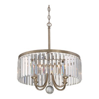 Mirage 4 Light 18 inch Vintage Gold Pendant Ceiling Light