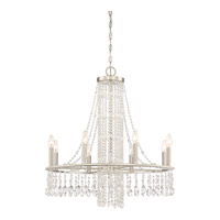 Majestic 9 Light 28 inch Brushed Nickel Chandelier Ceiling Light in B10 Candelabra Base