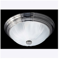 Quoizel Lighting Melon 1 Light Flush Mount in Empire Silver ML182ESUL