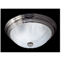 Quoizel ML183ES Melon 13 inch Empire Silver Flush Mount Ceiling Light in 0