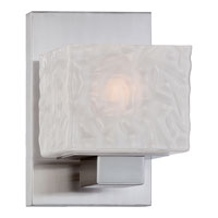 Quoizel Melody 1 Light Bath Light in Brushed Nickel MLD8601BN