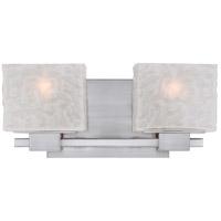 Quoizel MLD8602BN Melody 2 Light 15 inch Brushed Nickel Bath Light Wall Light