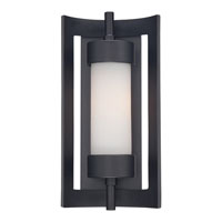 Quoizel MLN8307K Milan 1 Light 14 inch Mystic Black Outdoor Wall Lantern in Standard alternative photo thumbnail