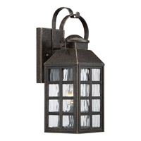 Quoizel Miles 1 Light Wall Lantern in Imperial Bronze MLS8405IBFL