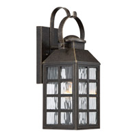 Quoizel Miles 1 Light Wall Lantern in Imperial Bronze MLS8406IB