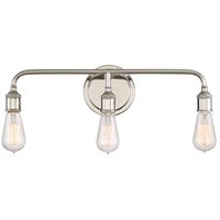 Quoizel MNO8603IS Menlo 3 Light 21 inch Imperial Silver Bath Light Wall Light in A19 Medium Base