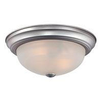 Quoizel MNR1611BN Manor 1 Light 11 inch Brushed Nickel Semi-Flush Mount Ceiling Light alternative photo thumbnail