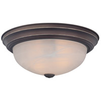 Manor 1 Light 11 inch Palladian Bronze Flush Mount Ceiling Light