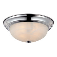 Quoizel Lighting Manor 2 Light Semi-Flush Mount in Polished Chrome MNR1613C alternative photo thumbnail