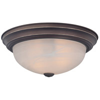 Manor 2 Light 13 inch Palladian Bronze Flush Mount Ceiling Light