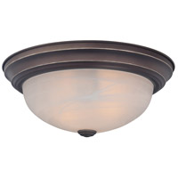 Manor 3 Light 15 inch Palladian Bronze Flush Mount Ceiling Light