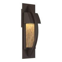 Monument 5 inch Western Bronze ADA Wall Lantern Wall Light in LED AC 120V