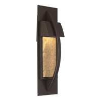 Quoizel MNT8405WT Monument 6 inch Western Bronze ADA Wall Lantern Wall Light in LED AC 120V photo thumbnail