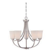 Quoizel Lighting Morro 5 Light Chandelier in Empire Silver MOR5005ES