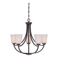 Quoizel Lighting Morro 5 Light Chandelier in Western Bronze MOR5005WT
