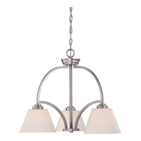 Quoizel Lighting Morro 3 Light Chandelier in Empire Silver MOR5103ES