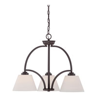 Quoizel Lighting Morro 3 Light Chandelier in Western Bronze MOR5103WT