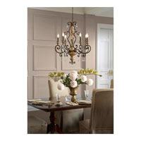 Quoizel MQ5006HL Marquette 6 Light 28 inch Heirloom Chandelier Ceiling Light alternative photo thumbnail