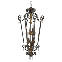 Quoizel Marquette 8 Light Foyer Chandelier in Heirloom MQ5208HL