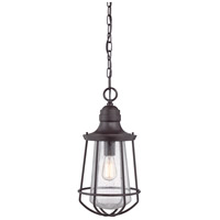 Quoizel Lighting Marine 1 Light Outdoor Hanging Lantern in Western Bronze MRE1909WT