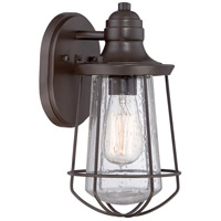 Quoizel Lighting Marine 1 Light Outdoor Wall Lantern in Western Bronze MRE8406WT
