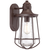 Quoizel MRE8408WT Marine 1 Light 15 inch Western Bronze Outdoor Wall Lantern