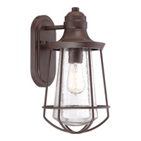 Quoizel Marine 1 Light Outdoor Wall Lantern in Western Bronze MRE8408WTFL
