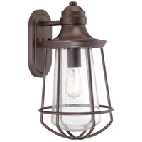 Quoizel Lighting Marine 1 Light Outdoor Wall Lantern in Western Bronze MRE8409WT