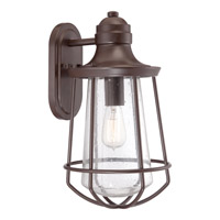 Quoizel Marine 1 Light Outdoor Wall Lantern in Western Bronze MRE8409WTFL